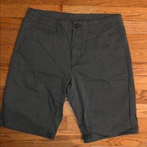 Green Calvin Klein Shorts